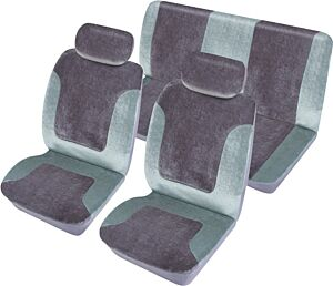Car Seat Cover Heritage - Set - Grey 1785302 COSMOS