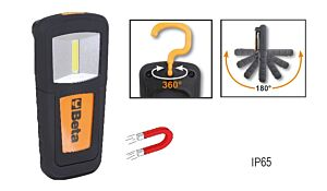 Beta Tools 1838COB Magnetic Base Compact COB LED Inspection Lamp 100/200 Lumens