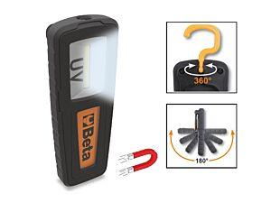 Beta Tools 1838UV Rechargeable UV/White Inspection Leak Detection Lamp 018380150