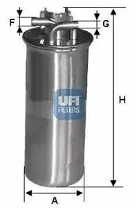 24.001.00 UFI Fuel Filter