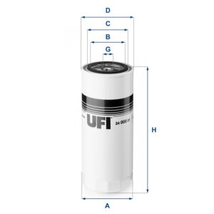 24.008.01 UFI Fuel Filter