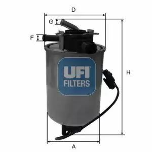 24.018.01 UFI Fuel Filter