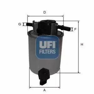 24.020.01 UFI Fuel Filter