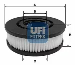 27.689.00 UFI Filter, Crankcase Breather Filter