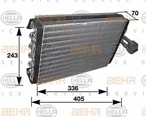 Evaporator Air Conditioning 8FV351210-281 by BEHR