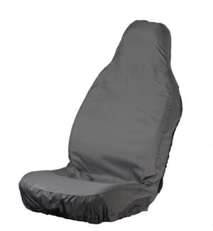 Car Seat Cover - Front Single - Grey TOWN & COUNTRY 3DFGRY