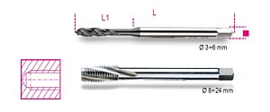 Beta Tools 428FC HSS Machine Tap Blind Holes Coarse M10 x 1.5mm   004280110