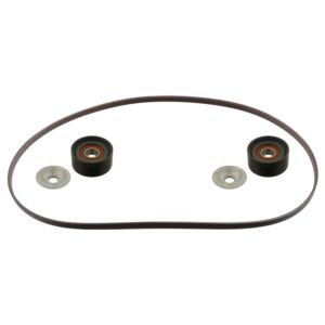 Auxiliary V-Ribbed belt Kit Set 45964 by Febi Bilstein