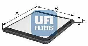 53.020.00 UFI Interior Air Cabin/ Pollen Filter