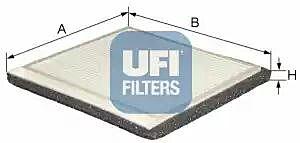 53.021.00 UFI Interior Air Cabin/ Pollen Filter