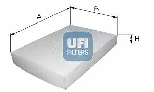 53.030.00 UFI Interior Air Cabin/ Pollen Filter
