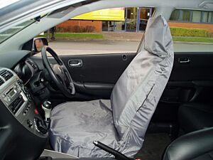 Car Seat Cover Waterproof - Front Single - Grey 650 MAYPOLE
