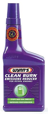 Clean Burn Emissions Reducer For Petrol - 325ml 67264 WYNNS