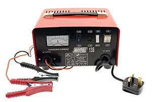 Metal Battery Charger - 8A - 12V 713A MAYPOLE