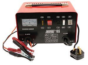 Metal Battery Charger - 12A - 12V/24V 716 MAYPOLE