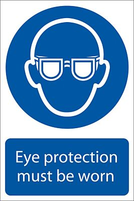 Draper 'Eye Protection' Mandatory Sign | 72080