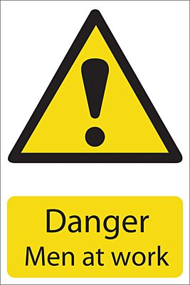 Draper 'Danger Men At Work' Hazard Sign | 72441