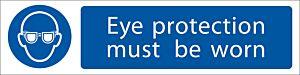 Draper 'Eye Protection' Mandatory Sign   73085