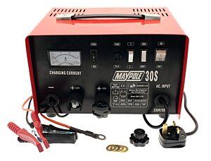 Metal Battery Charger - 20A - 12V/24V 730 MAYPOLE