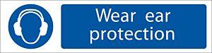 Draper 'Ear Protection' Mandatory Sign   73158