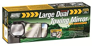 Towing Extension Mirror - Dual Glass 8324 MAYPOLE