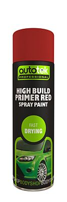 High Build Primer - Red - 500ml ATOHBPR500 AUTOTEK