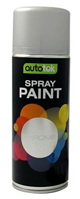 Aerosol Paint - Chrome - 400ml ATOOCHR400 AUTOTEK