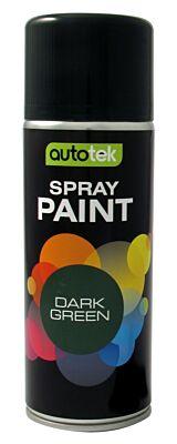 Aerosol Paint - Gloss Dark Green - 400ml ATOODGN400 AUTOTEK