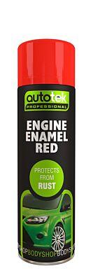 Engine Enamel - Red - 500ml ATOOEER500 AUTOTEK