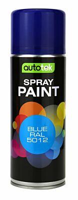 Aerosol Paint - Blue RAL 5012 - 400ml ATOOOBR400 AUTOTEK