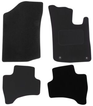 Car Mat for Citroen C1 2012 2014 2 clip version Pattern 2625 POLCO EQUIP IT CT31