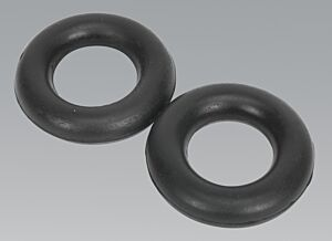 Sealey EX04 | Exhaust Mounting Rubbers - L59 x W59 x D13.5 (Pack of 2)