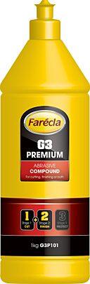 G3 Premium Abrasive Compound - 1 Litre G3P101 FARECLA