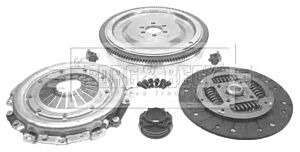 Clutch Conversion Kit HKF1037 by Borg & Beck
