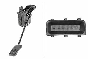 Accelerator Pedal Sensor 6PV010946-131 by Hella