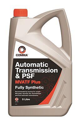 MultiVehicle Automatic Transmission & Power Steering Fluid 5 Litre MVATF5L COMMA