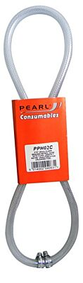 Fuel Hose & Clips Clear 1/4in. x 1m PPH02C PEARL CONSUMABLES