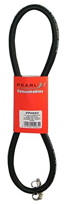 Fuel Hose & Clips Rubber 5/16in. x 1m PPH05C PEARL CONSUMABLES