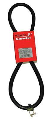Fuel Hose Rubber 6mm & Clips x 1m PPH07C PEARL CONSUMABLES