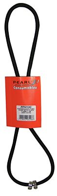 Fuel Hose & Clips Overbraided 3.2mm x 1m PPH13C PEARL CONSUMABLES