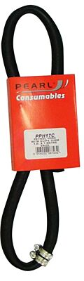 Fuel Hose & Clips Rubber 12mm x 1m PPH17C PEARL CONSUMABLES