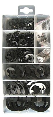 Assorted E Clips - Box of 300 PXP125 PEARL CONSUMABLES