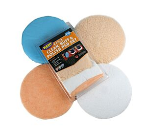 Clean, Buff & Polish Pad Set - 8 Piece Set Q8009 KENT