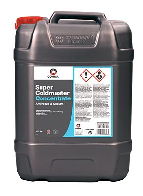Super Coldmaster Antifreeze & Coolant - Concentrated - 20 Litre SCA20L COMMA