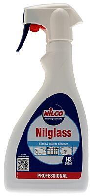 Nilglass Glass & Mirror Cleaner - 500ml SVTN500GC NILCO
