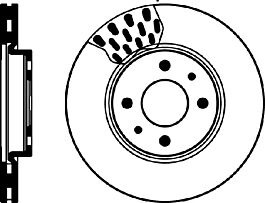 Front Delphi Brake Pads Brake Discs 257mm Vented Peugeot Bipper Tepee 1.4